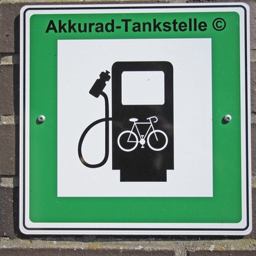 E Bike Ladestation