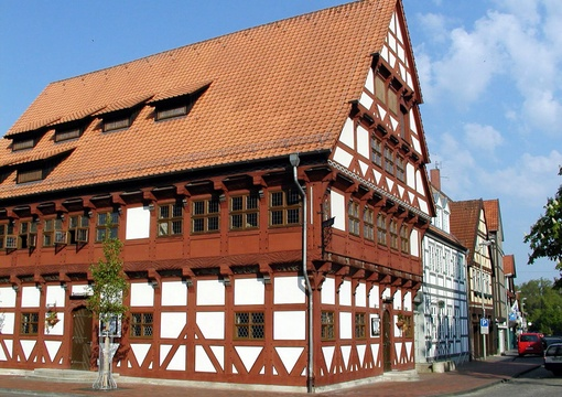 Ates Rathaus in Gifhorn