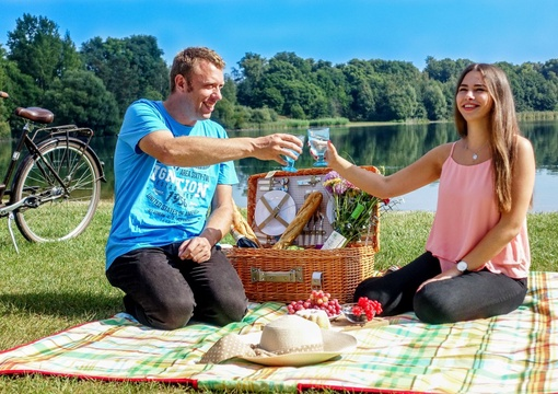 Picknick am Eixer See